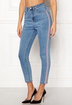 77thFLEA Tinnie highwaist jeans Blue Bubbleroom.dk