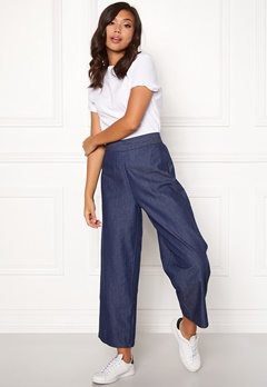 77thFLEA Yoko denim trousers Medium blue Bubbleroom.dk
