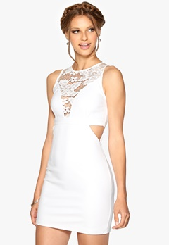WYLDR Look out dress White Bubbleroom.dk