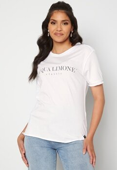 Acqua Limone T-shirt Classic White Bubbleroom.dk