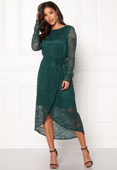 OBJECT Adelina L/S Dress Pine Grove Bubbleroom.dk