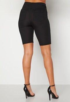 Alexandra Nilsson X Bubbleroom Biker rib shorts Black Bubbleroom.dk