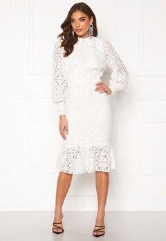 Alexandra Nilsson X Bubbleroom Lace flounce skirt White Bubbleroom.dk