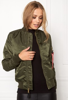 Alpha Industries MA-1 VF PM Dark Green Bubbleroom.dk
