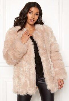 AMO Couture Renaissance Faux Fur Coat Soft Beige Bubbleroom.dk
