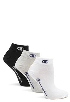 Champion Ankle Socks 3-Pack Logo Mix Bubbleroom.dk