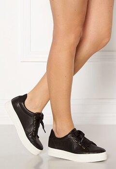 GANT Avona Leather Sneaker G00 Black Bubbleroom.dk