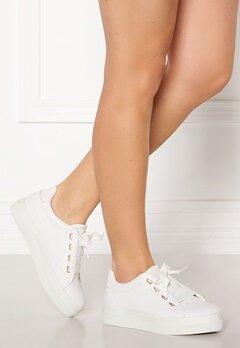 GANT Avona Leather Sneaker G290 Bright White Bubbleroom.dk