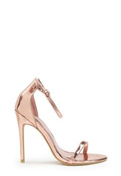 AX Paris Barely Heels Shoes Rose Gold Bubbleroom.dk