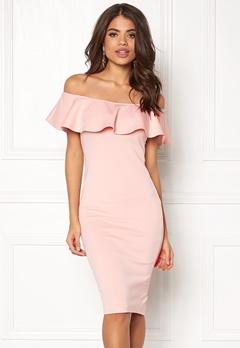 AX Paris Off the Shoulder Dress Pink Bubbleroom.dk