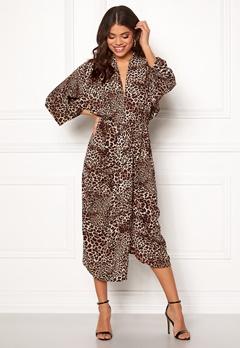AX Paris Elasticated Waist Dress Multi (Leo) Bubbleroom.dk