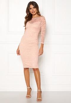AX Paris Lace Off Shoulder Dress Mushroom Bubbleroom.dk