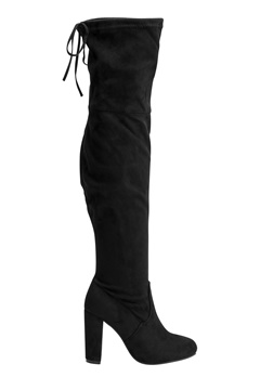 AX Paris Overknee Boots Black Bubbleroom.dk