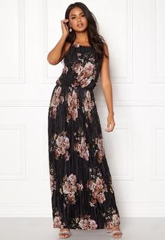 VILA B Maxi S/L Dress Black Bubbleroom.dk