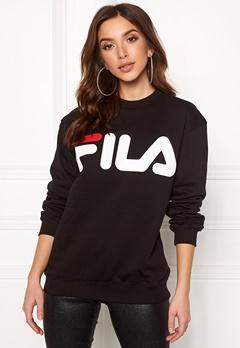 FILA Basic Classic Logo Sweat Black Bubbleroom.dk