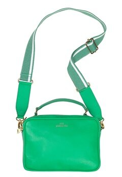 Becksöndergaard Feels Leather Bag Fern Green Bubbleroom.dk