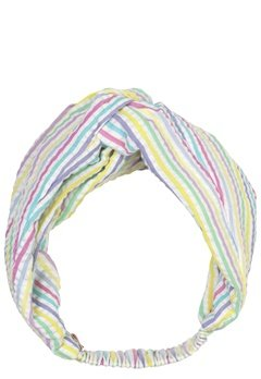 Becksöndergaard Multi Stripes Hairband 400 Yellow Bubbleroom.dk