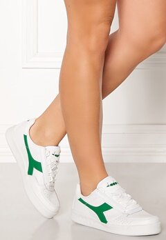 Diadora B.Elite Original Shoes White/Jelly Bean Bubbleroom.dk