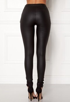 OBJECT Belle Coated Legging Black Bubbleroom.dk