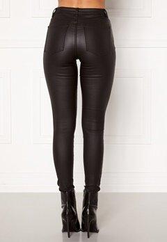 OBJECT Belle MW Coated Pants Black Bubbleroom.dk