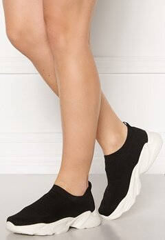 Bianco Case Knit Sneaker 104 Black Bubbleroom.dk