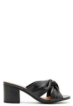 Bianco Cate Knot Mule Sandal 100 Black Bubbleroom.dk