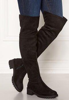 Bianco Claire Overknee Boots 101 Black Bubbleroom.dk