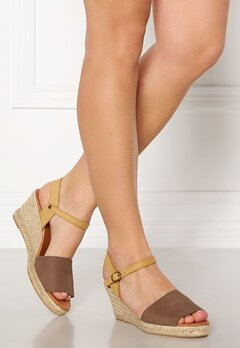 Bianco Dara Suede Espadrillo 211 Light Brown Bubbleroom.dk