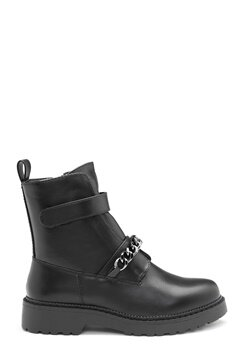 Bianco Delpha Chain Boot 100 Black bubbleroom.dk