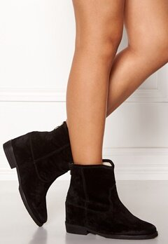 Billi Bi Black Suede Boots Black Bubbleroom.dk