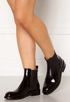 Billi Bi Chelsea Leather Boots Black Polido 900 Bubbleroom.dk