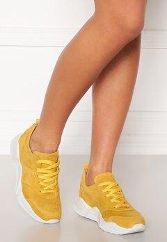 Billi Bi Chunky Sneakers Yellow 1795 Suede 55 Bubbleroom.dk