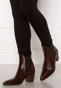 Billi Bi Leather Croco Boots Brown 8505 Luisiana Bubbleroom.dk