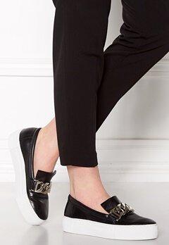 Billi Bi Leather Sneakers Black Bubbleroom.dk