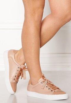 Billi Bi Leather Sneakers Nude Bubbleroom.dk