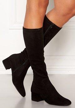 Billi Bi Long Suede Boots Black Bubbleroom.dk