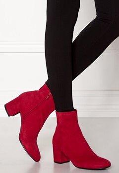 Billi Bi Red Suede Boots Red Bubbleroom.dk