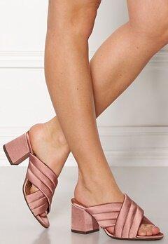 Billi Bi Satin Sandals Old Rose Bubbleroom.dk