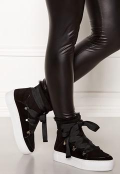 Billi Bi Suede Boots Black/White Bubbleroom.dk