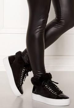 Billi Bi Suede Shoes Black/Black Bubbleroom.dk