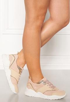 Billi Bi Suede Sneakers Beige/Rose Bubbleroom.dk
