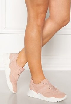 Billi Bi Suede Sneakers Light Rose Bubbleroom.dk