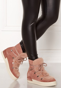 Billi Bi Tomcat Suede Shoes Rose Bubbleroom.dk