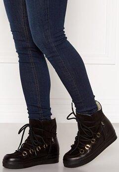 Billi Bi Wedge Boots Black/Gold Bubbleroom.dk