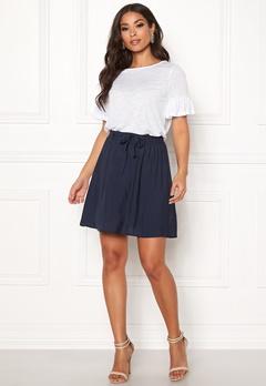 VERO MODA Boca NW Short Skirt Navy Blazer Bubbleroom.dk