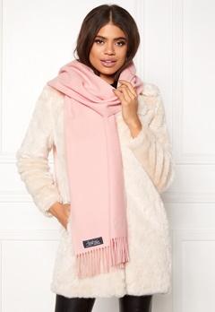 Boomerang Farsta Wool Scarf Pink Lilly Bubbleroom.dk