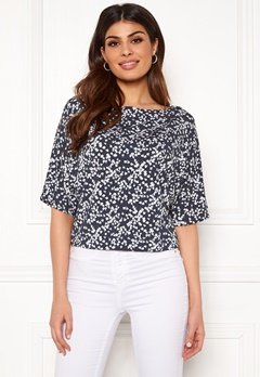 Boomerang Julia Printed Top Blue Nights Bubbleroom.dk