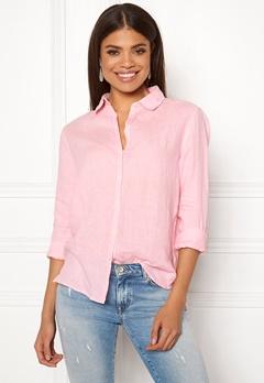 Boomerang Lina Linen Shirt Middway Pink Bubbleroom.dk
