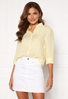 Boomerang Lina Linen Shirt Soft Sunshine Bubbleroom.dk