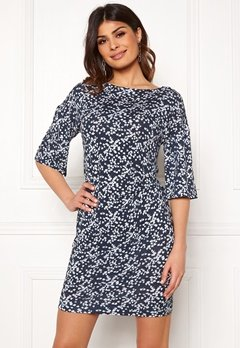 Boomerang Nora Printed Dress Blue Nights Bubbleroom.dk